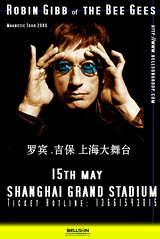 Robin Gibb of the BeeGees Shanghai...more Live...