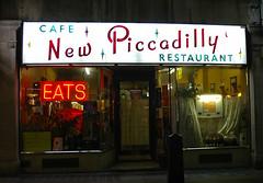 New Piccadilly Cafe, Soho