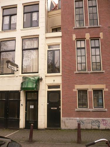 #7 Singel - narrowest house in Amsterdam
