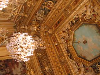 Ceiling in Hôtel de Ville