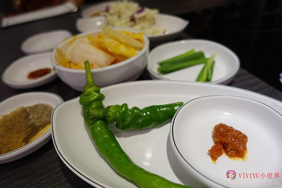 台北美食,孔陵一隻雞,忠孝復興站,韓國美食,韓國菜 @VIVIYU小世界