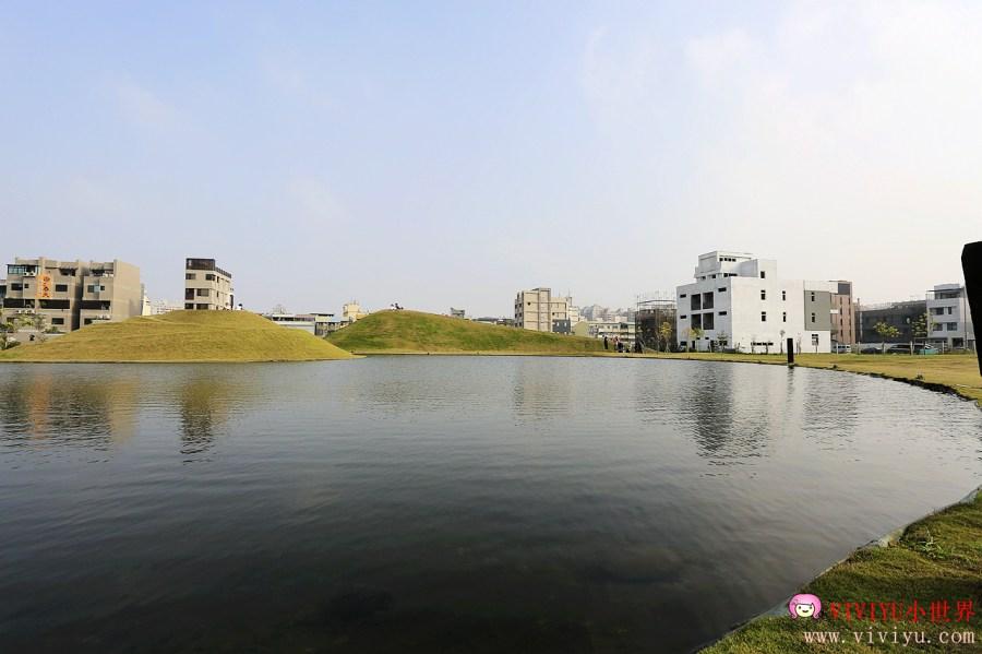 [台中.旅遊]台中嘉明湖.最新IG熱門打卡景點~人工湖造景.市區拍照景點 @VIVIYU小世界