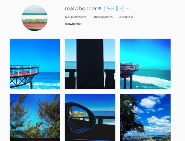 William Bonner intriga seguidores ao apagar fotos do Instagram