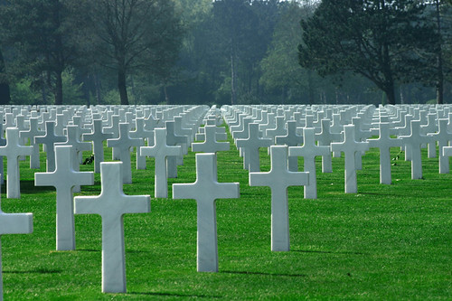 Normandy Graveyard for American Soldiers
