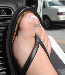 Toe Tattoo