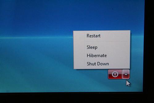 Windows Vista Restart