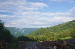 Valea Neagra, insorita la coborare