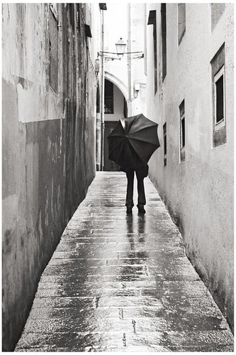 Man With Umbrella by Shaddam IV via Flickr