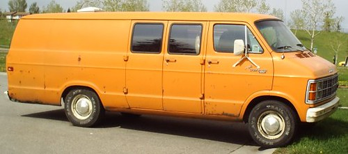 My Ex-Cars 1980 Dodge Maxivan
