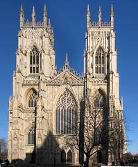 York Minster façade