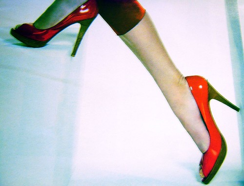 high and red heels on flickr!