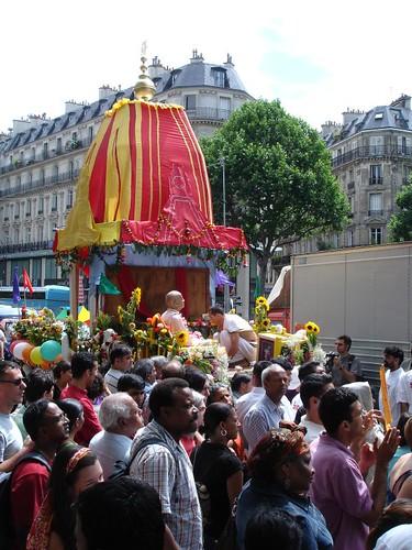 Puri Rath Yatra in Paris