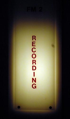 Shhhhhh! Recording at WPLJ