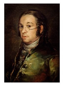Goya. Self-portrait