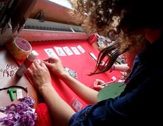 Girls Doing Handcraft 2