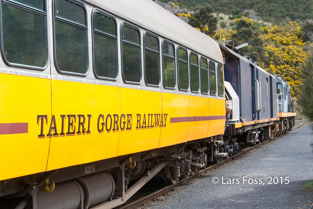 On the Taieri Gorge Railway