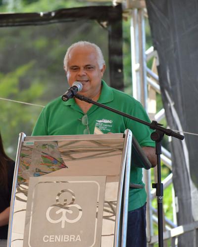 As palavras de agradecimento do prefeito de Belo Oriente, Pietro Chaves