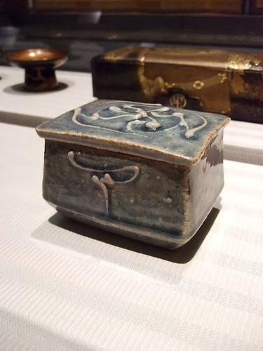 Crackled Polychrome glazed Stoneware vessel created by Kanjiro Kawai mid 1950s 3