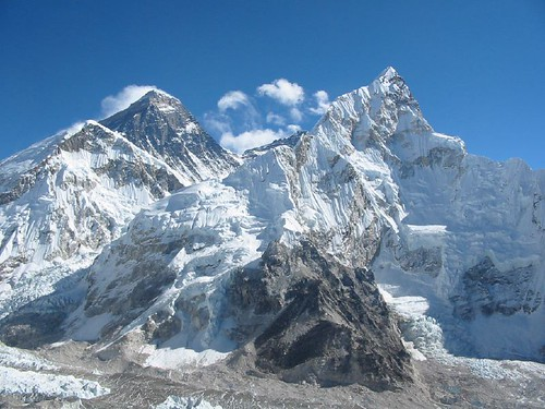 Everest/Chomolungma and Nuptse