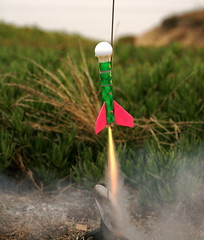 Scratch Golf Ball Rocket