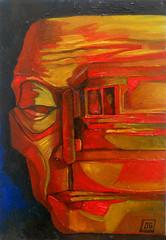 Senza titolo, olio su tavola, 25×40, 2006