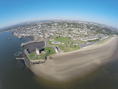 Broughty Ferry Castle aerial photos