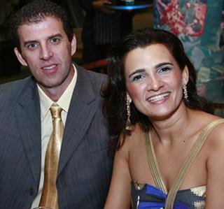 Alexandre Etrusco e Maysa Vitorino