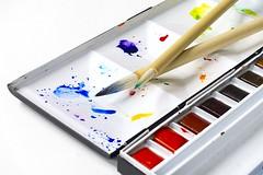 """Die Wasserfarbe. Die Wasserfarben. Oder: Der Malkasten. • <a style=""""font-size:0.8em;"""" href=""""http://www.flickr.com/photos/42554185@N00/22623158697/"""" target=""""_blank"""">View on Flickr</a>"""