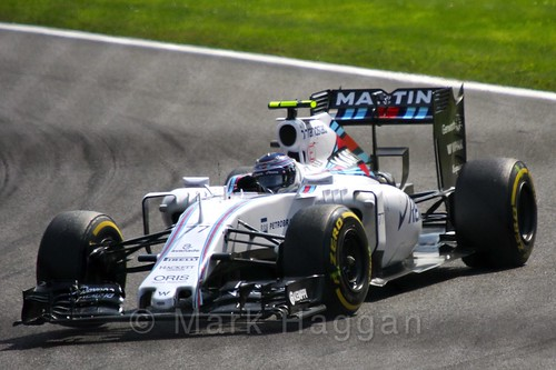 Valtteri Bottas in the 2015 Belgium Grand Prix
