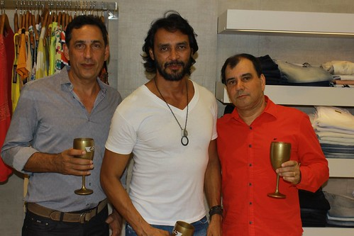 Pedro, Flávio e Abelha Torquetti
