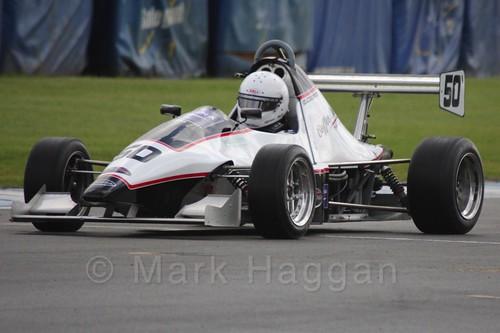 David Cooper in Formula Jedi at Donington, September 2015