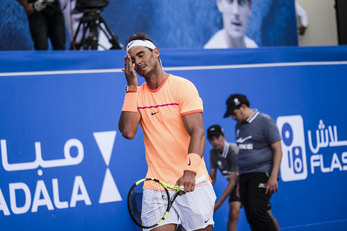 """Disappointed Rafael Nadal • <a style=""""font-size:0.8em;"""" href=""""http://www.flickr.com/photos/125636673@N08/31192955193/"""" target=""""_blank"""">View on Flickr</a>"""