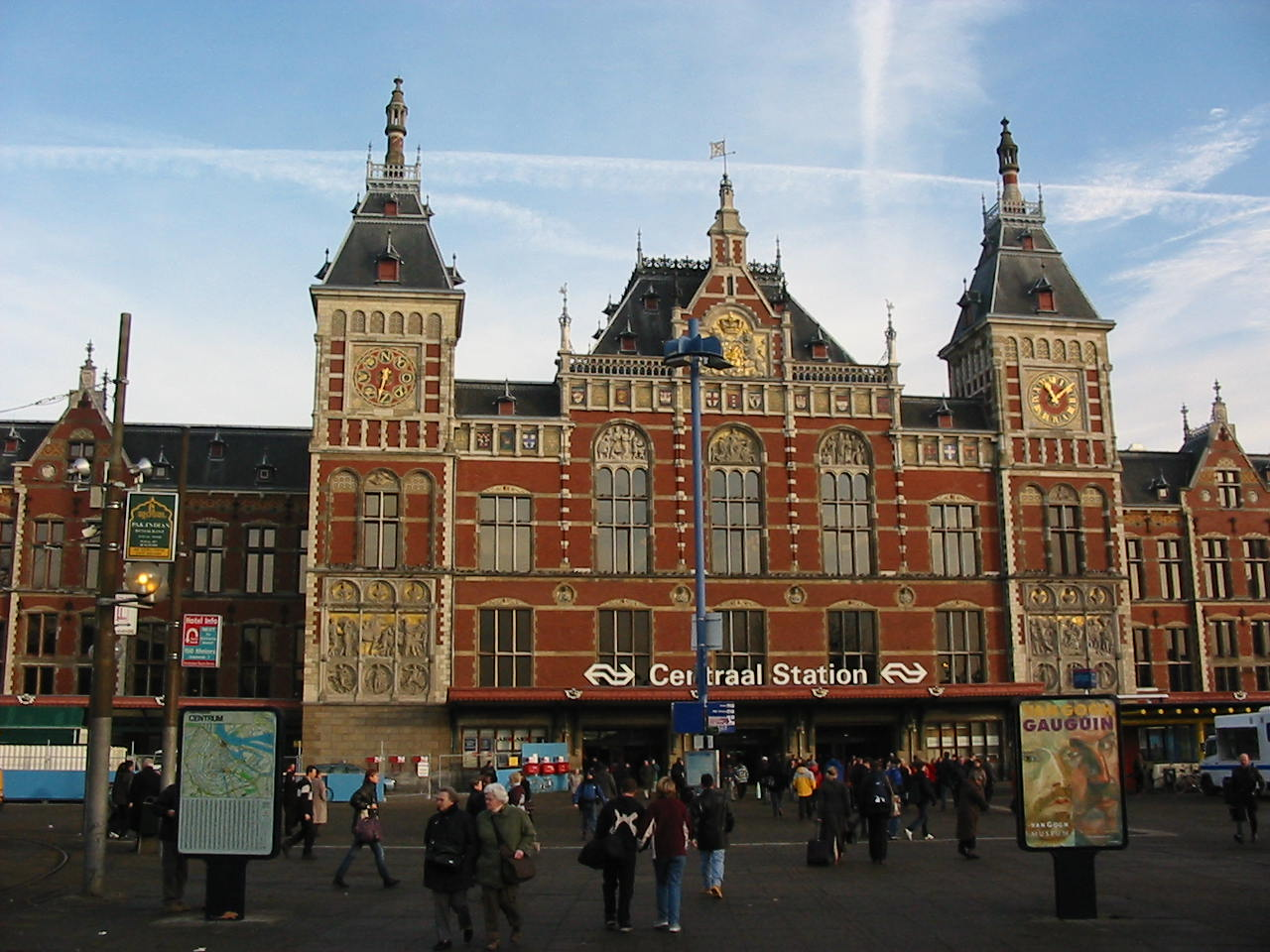 Image result for amsterdam central station