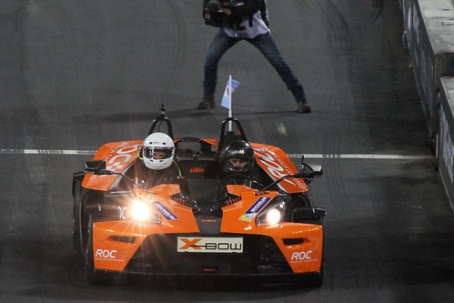 José María López in The Race of Champions, Olympic Stadium, London, November 2015