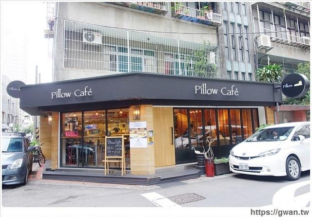 捷運美食,咖啡廳,pillow cafe,枕頭咖啡,巷弄美食,好喝的抹茶,不限時咖啡廳,寵物友善餐廳,開到很晚的咖啡廳,可看到101的餐廳,通化夜市-1-807-1