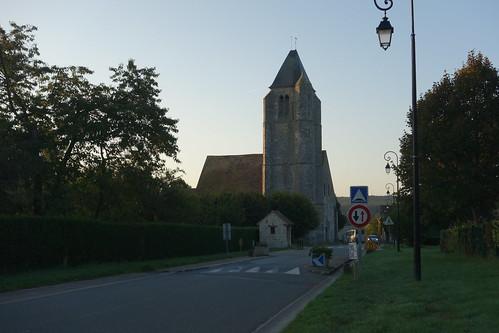 Une église à Longvilliers, juste à côté de Val St Germain