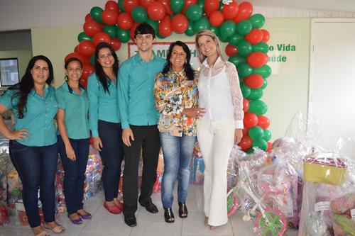 Viviane, Jéssica, Débora, Andrey, Mara e Melissa
