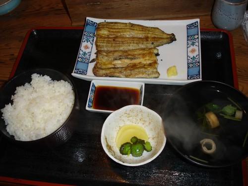 Unagi Shirayaki Teishoku