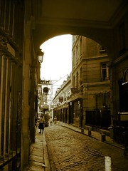 A Paris passageway