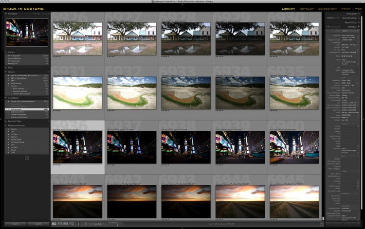 HDR Tutorial - Lightroom and the 5 shots