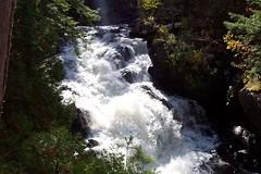 Eau Claire Gorge Falls