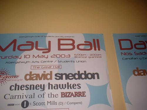 May Ball Poster 2003