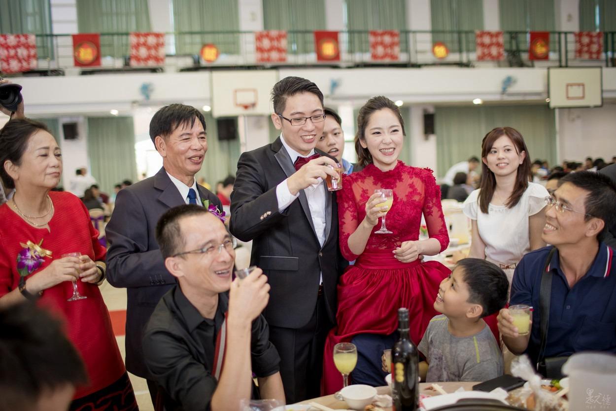高雄婚攝推薦,一甲國中婚禮