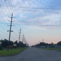 The Road Ahead. Day 121. Eleventh Street in Beaumont, TX. Welcome to Texas! Now to find a place to watch the Eagles. #theworldwalk #travel #wwtheroadahead