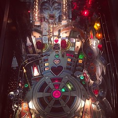 """The Machine: Bride of Pin Bot."" Forgot how much fun video games (and pinball machines could be). #TheWorldWalk #austin #travel #twwphotos"