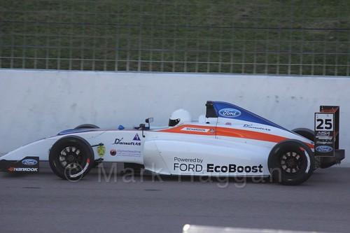 Louise Richardson in MSA Formula at Rockingham, September 2015