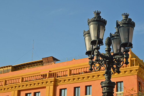 The lamp (Cartagena - Colombia)