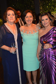 Ione Sena, Cecília Andrade e Cristina Hemétrio