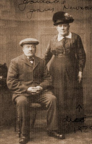 Alfred and Harriet Newman