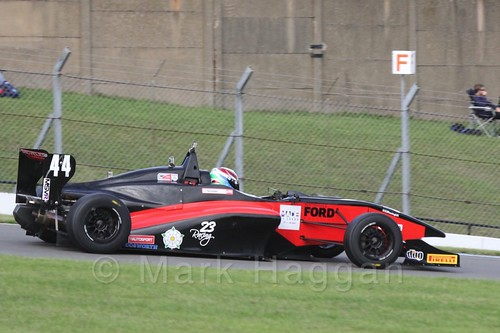 BRDC F4 Race 3 at Donington Park, September 2015